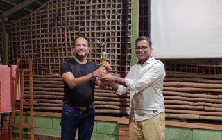 Rahul Mahajan - Awarded Special award